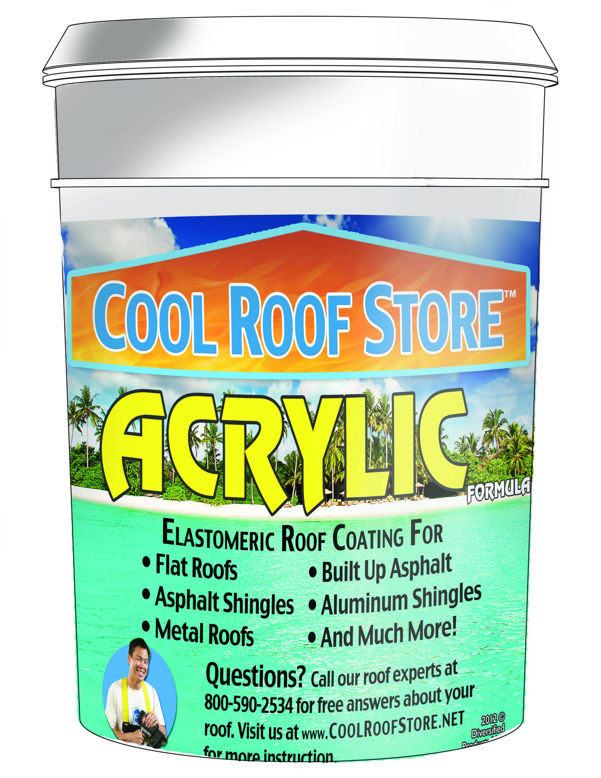 CRS Acrylic Roof Coating