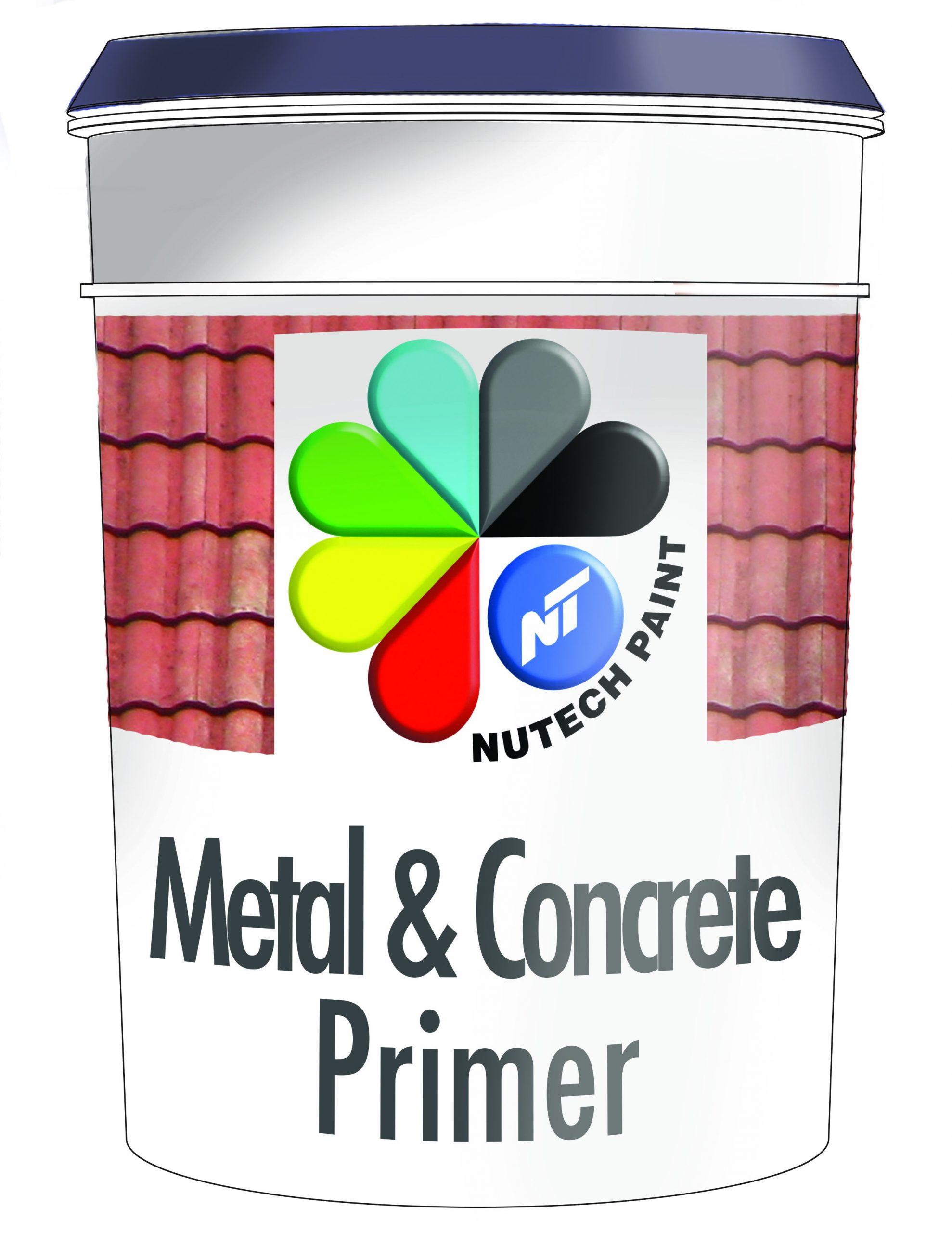 Nutech Metal & Concrete Roof Primer