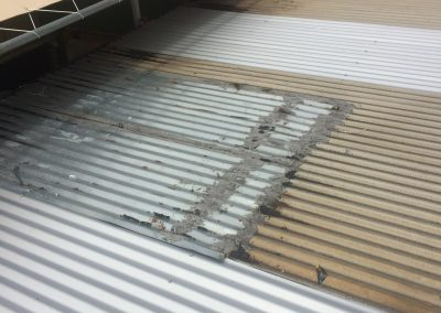 Honolulu Metal Roof In Need of Repair