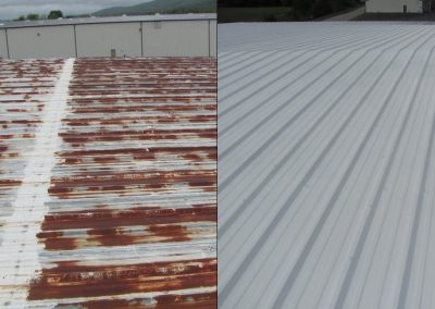 Metal Roof - Before & After