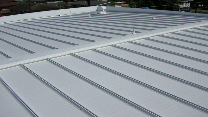 Coatings for Metal Roofs in Honolulu, Hawaii