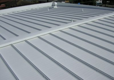 Hawaii Metal Roof Coating Completed