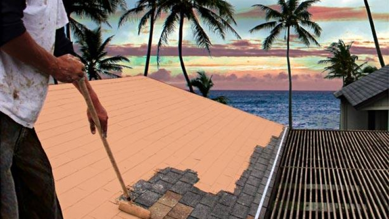 Shingle Roof Coatings for Hawaii Homes & Commercial Buildings