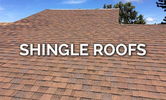Shingle Roofs