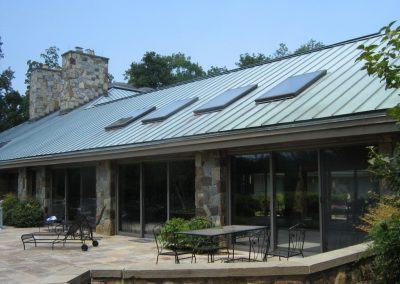 Standing Seam Metal Roof Project