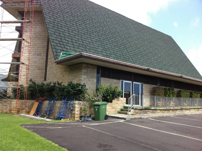 Manoa 7th Day Adventist Church With New Metal Tile Roof
